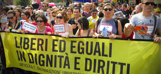 Amnesty al Palermo Pride