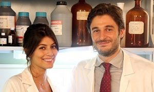 Lino con Alessandra Mastronardi