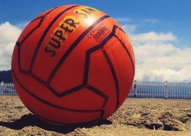 pallone spiaggia