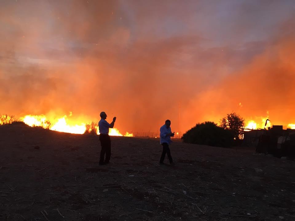 Incendio San Vito Lo Capo