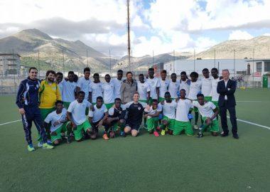 La squadra di migranti 'sante' nata a Palermo