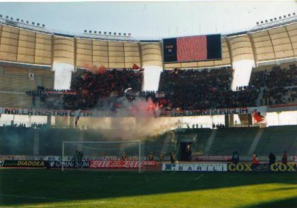 Il derby Bari - Foggia