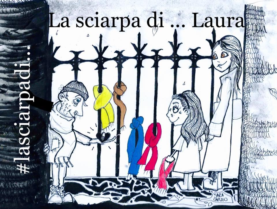 """A Foggia """"La sciarpa di Laura"""""""