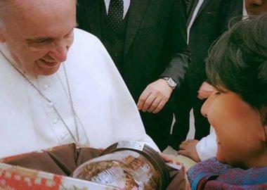 Presepe al Papa