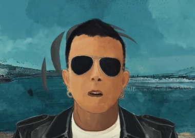 Napoli un fumetto nel video di Ricciardi