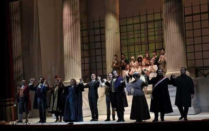 Andrea Chenier alla Scala