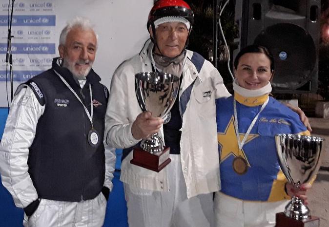 Trotto, vittoria a 90 anni