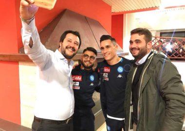 Salvini e il Napoli