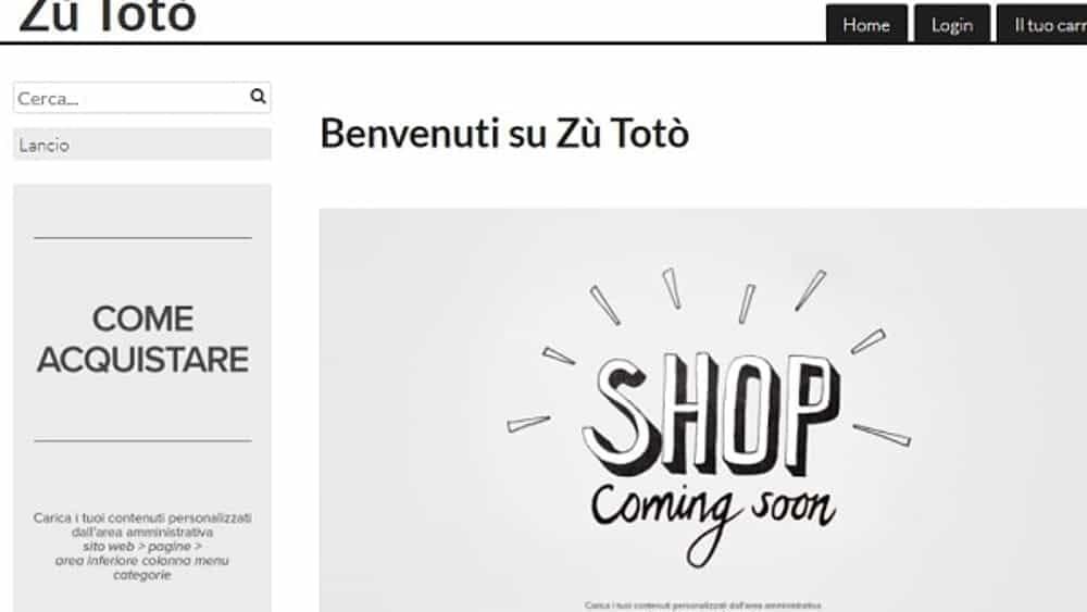 Il marchio Zu Totò