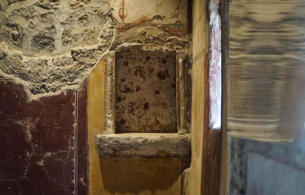 Pompei, ancora vandali