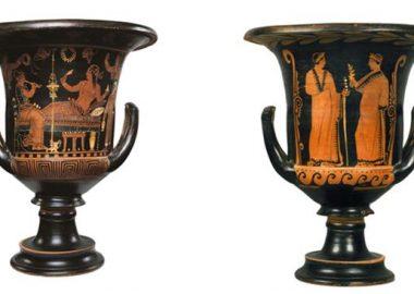 Vaso torna a Paestum