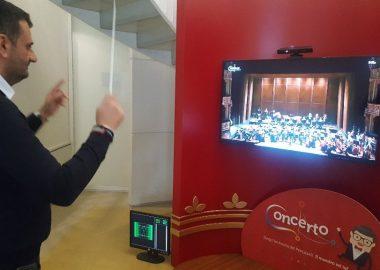 """""""Concerto"""", il simulatore multimediale per la direzione d'orchestra,"""