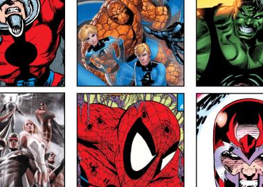 Mostra fumetti per supereoi e medici fisici