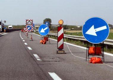 Lavori in autostrada sulla A2