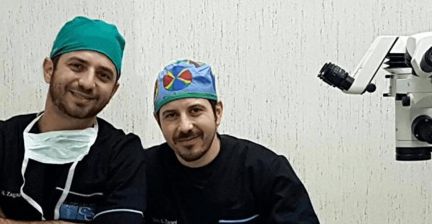 I due oculisti catanesi Marco e Silvio Zagari