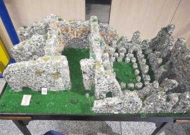Plastico in pietra dell'Abbazia di Corazzo,