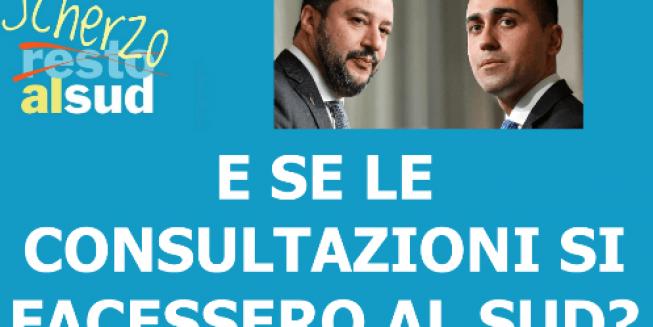 Scherzoalsud e le consultazioni
