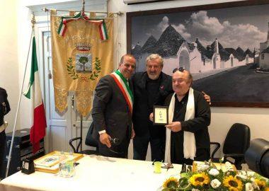 Lino Banfi cittadino onorario di Alberobello