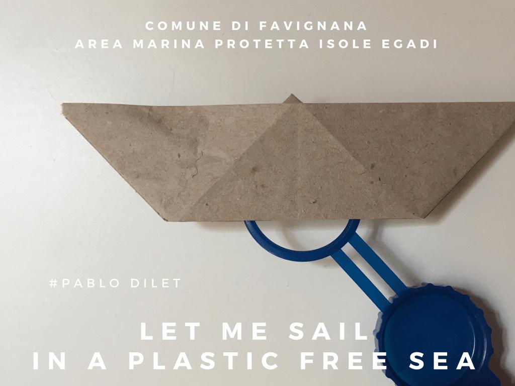 Isole Egadi nuovo progetto artistico per dire no alla plastica in mare