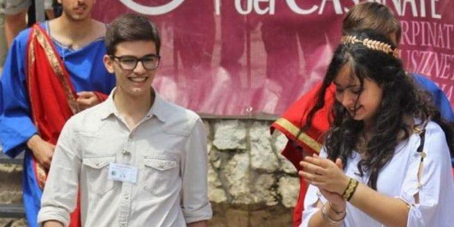 Studente sanseverese Latino