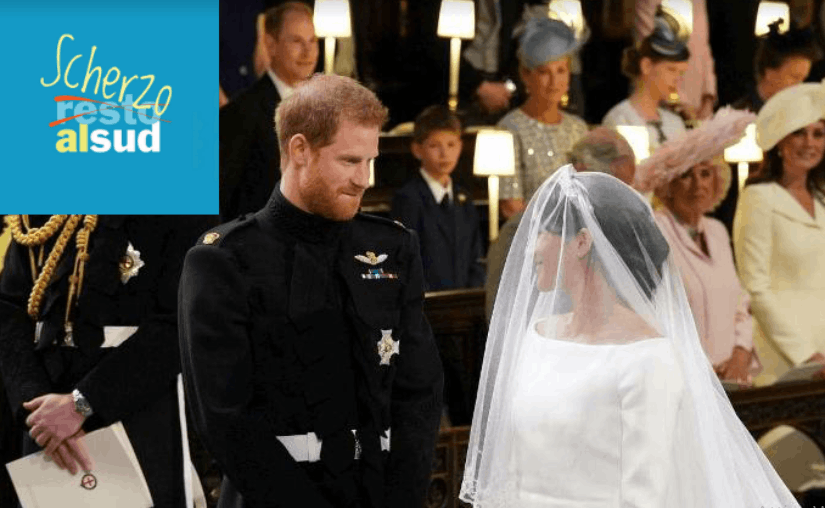 Scherzoalsud Royal wedding