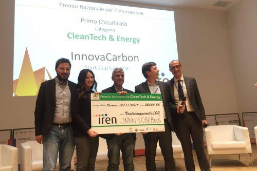 PNI, vince la startup Innovacarbon
