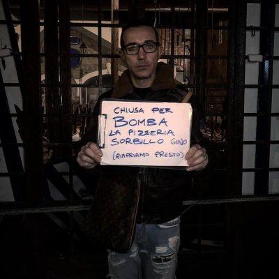 Bomba alla pizzeria di Gino Sorbillo a Napoli