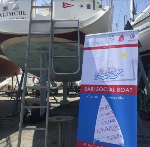 """""""Bari Social Boat"""", la biblioteca a vela sul mare"""