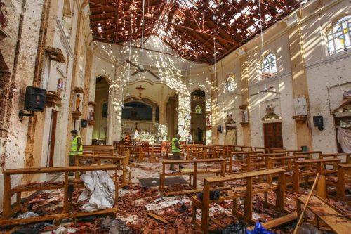 Attentati in Chiesa nello Sri Lanka