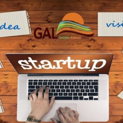 Startup, Startup, bando Gal Daunia Rurale 2020