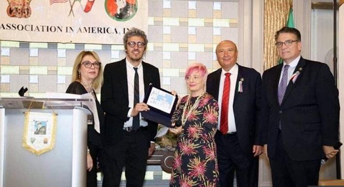 La premiazione di Pif