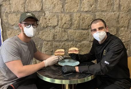 Hamburgeria a Napoli inaugurazione